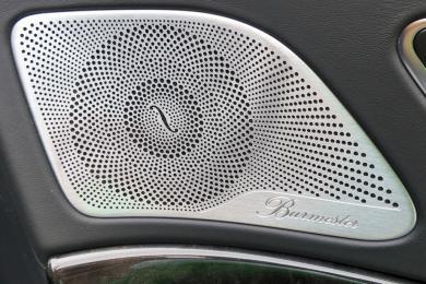 2014 Mercedes-Benz S-Class Burmester audio