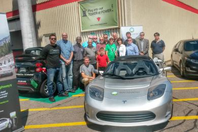Canadian Tire EV event