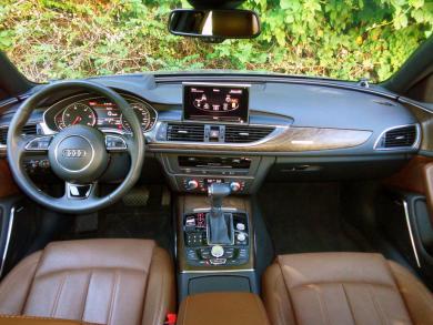 2014 Audi A6 TDI dashboard