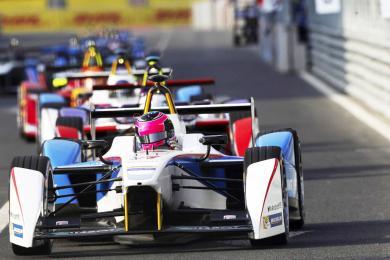 Inaugural Formula E Race