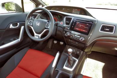 2014 Honda Civic Si driver's seat