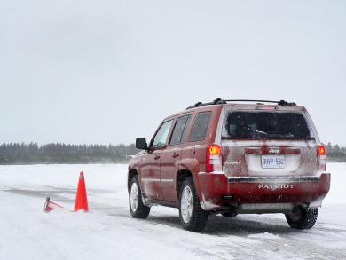 Winter tire testing