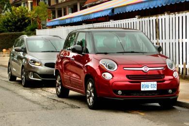 2014 Fiat 500L vs 2014 Kia Rondo