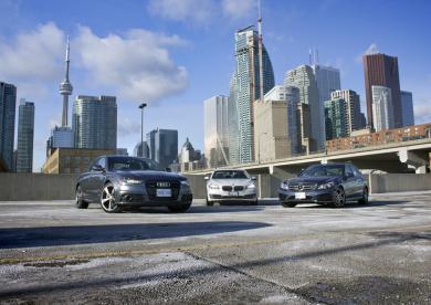 Diesel Luxury Sedan Comparison