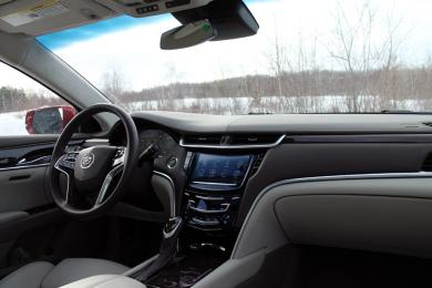 Test Drive: 2014 Cadillac XTS Vsport car test drives luxury cars cadillac