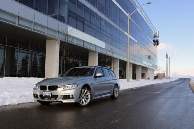 Test Drive: 2014 BMW 328i Touring car test drives luxury cars bmw