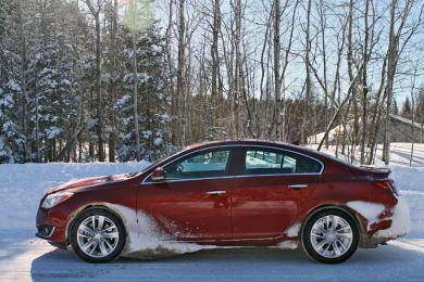 2014 Buick Regal AWD Turbo
