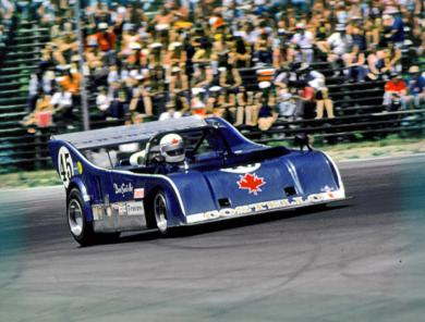 David Saville Peck at Watkins Glen for Can-Am