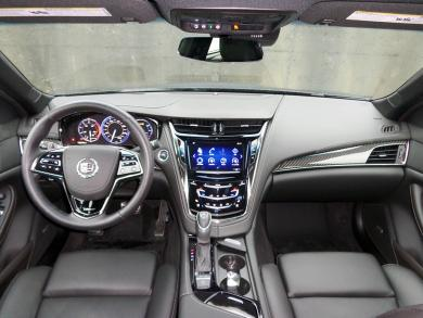 2014 Cadillac CTS Vsport dashboard