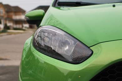 2014 Ford Fiesta ST headlight