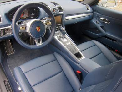 2014 Porsche Cayman S front seats & dashboard