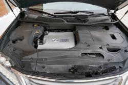 2014 Lexus RX 450h engine bay