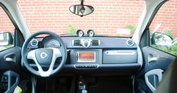 2014 Smart ForTwo Electric Drive dashboard