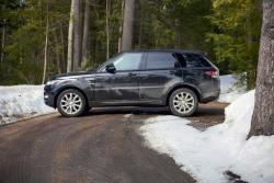 Road Trip Review: 2014 Land Rover Range Rover Sport HSE car test drives luxury cars landrover