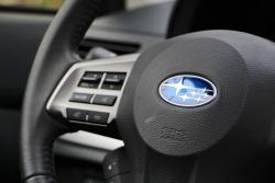 2014 Subaru XV Crosstrek steering wheel controls