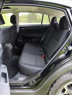 2014 Subaru XV Crosstrek rear seats