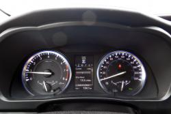 2014 Toyota Highlander Limited gauges