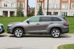 Comparison Test: 2014 Hyundai Santa Fe XL Limited vs 2014 Toyota Highlander Limited toyota hyundai car comparisons