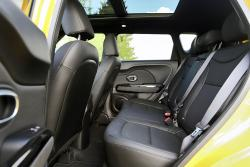 2014 Kia Soul SX Luxury rear seats