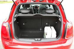 2014 Mini Cooper cargo area