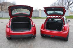 2014 Mazda3 Sport GS & Mini Cooper cargo areas