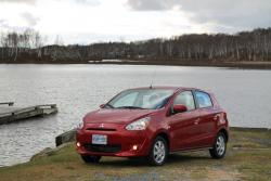 Road Trip: 2014 Mitsubishi Mirage travel car test drives mitsubishi