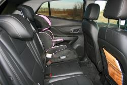 2014 Buick Encore rear seats
