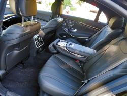 2014 Mercedes-Benz S 550 4Matic rear seats