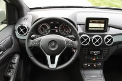 2014 Mercedes-Benz B 250 driver's view