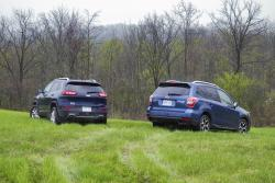 2014 Jeep Cherokee Limited vs 2014 Subaru Forester XT