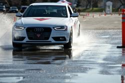 Continental TrueContact tire test - wet braking test