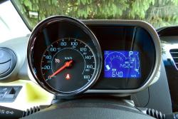 2014 Chevrolet Spark gauges