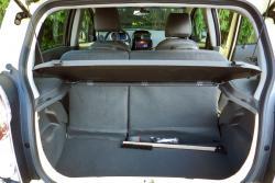 2014 Chevrolet Spark cargo area