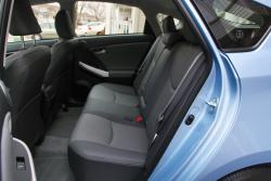 2014 Toyota Prius Plug-in Hybrid rear seats