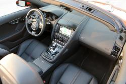 2014 Jaguar F-Type Convertible V8 S dashboard