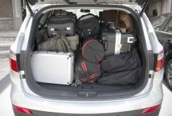2014 Hyundai Santa Fe XL cargo area