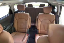 2014 Hyundai Santa Fe XL rear seating