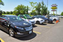 State of Charge: Tim Hortons Installs Charging Stations, and Latest Plug In News electric green news auto articles