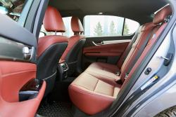2014 Lexus GS 350 AWD F Sport rear seats