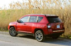 Test Drive: 2014 Jeep Compass Limited car test drives reviews jeep
