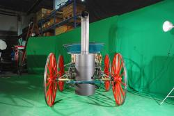 Taylor Steam Buggy, photo courtesy of the Canada Science and Technology Museum