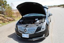 2014 Cadillac ELR engine bay