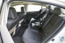 2014 Acura ILX 2.0 Tech rear seats