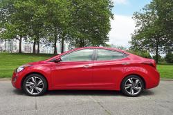 Test Drive: 2014 Hyundai Elantra Limited car test drives hyundai
