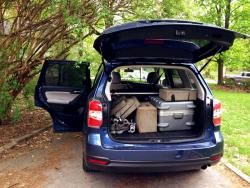 The Quick and the Dad: 2014 Subaru Forester XT Touring car test drives subaru
