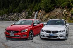 2014 BMW 335i GT vs. 2015 Volvo V60 T6 R-Design