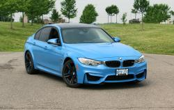 2015 BMW M3 Harman Kardon audio