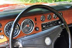 1969 Ford Cortina GT gauges