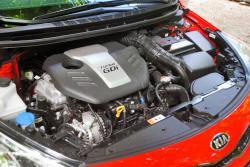 2014 Kia Forte Koup SX Premium engine bay