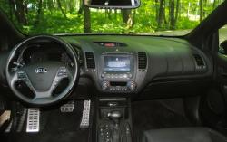 2014 Kia Forte Koup SX Premium dashboard